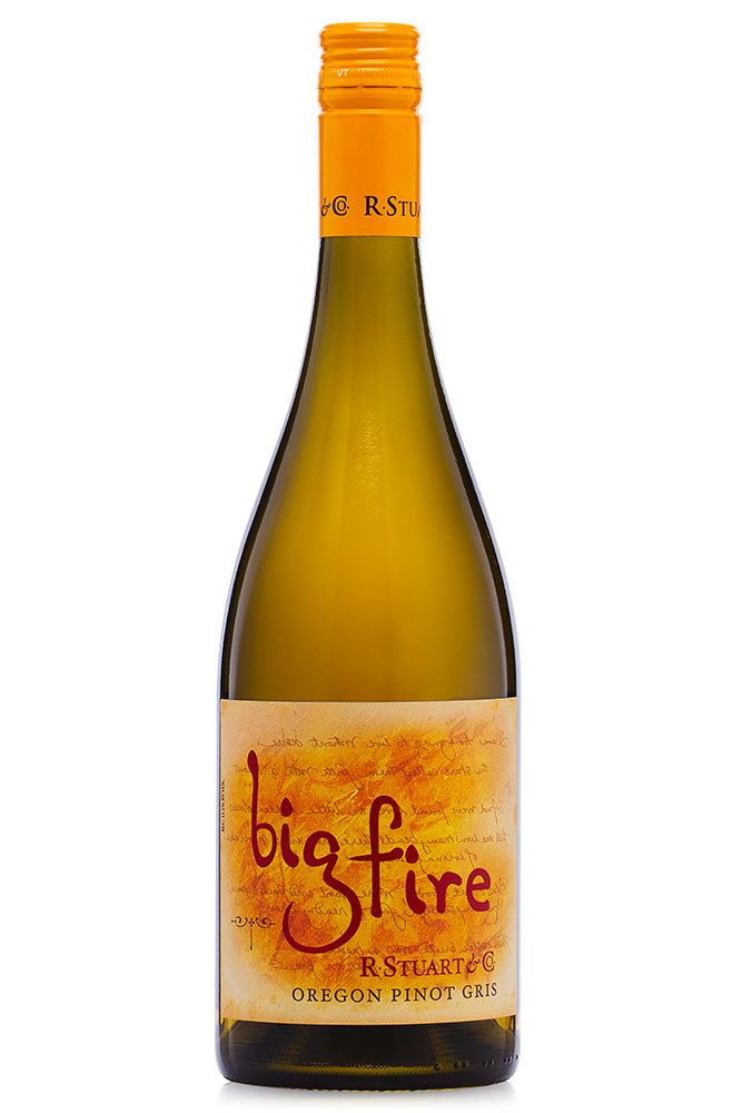 "American Wine R. Stuart ""Big Fire"" Pinot Gris Willamette Valley Oregon 2015 750ml"