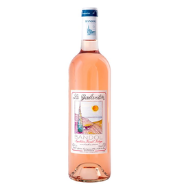 French Wine Le Galantin Bandol Rosé 2017 750ml