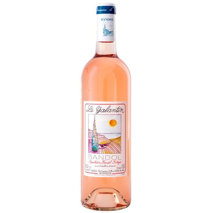 French Wine Le Galantin Bandol Rosé 2018 750ml