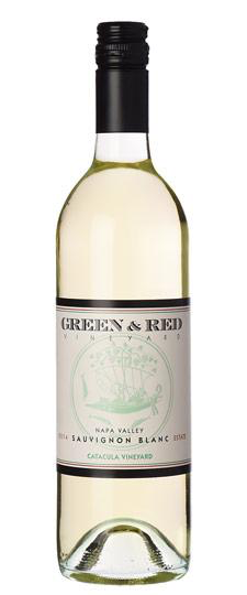 "American Wine Green & Red ""Catacula Vineyard""  Sauvignon Blanc Napa Valley 2014 750ml"