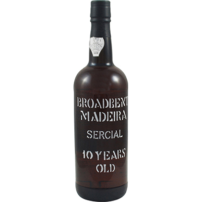Dessert Wine Broadbent Sercial 10 Year Madeira 750ml