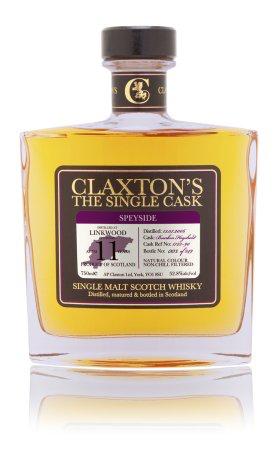 "Scotch Claxton's ""The Single Cask"" Linkwood 11 Year Speyside Single Malt Scotch Whisky Distilled 13.07.2006 Cask 1723-90 750ml"