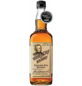 "Rye Whiskey James E. Pepper ""Old Henry Clay"" Straight Rye Whiskey 750ml"