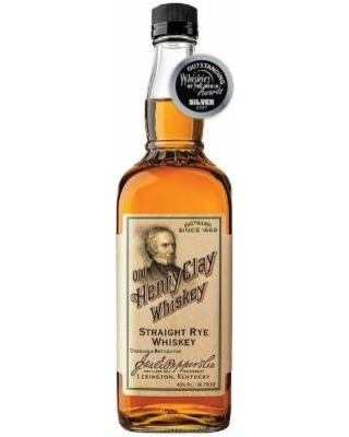 """Rye Whiskey James E. Pepper """"Old Henry Clay"""" Straight Rye Whiskey 750ml"""