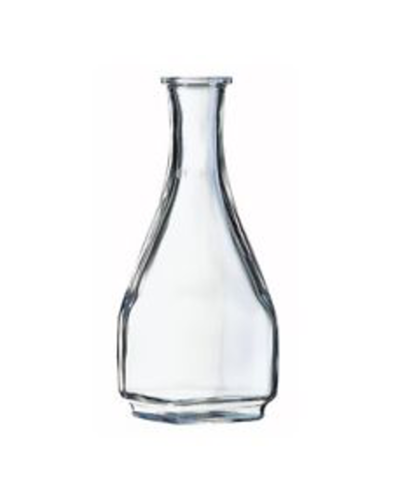 Square Glass Decanter Carafe One Liter