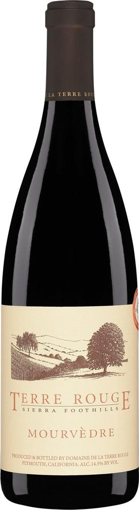 American Wine Terre Rouge Mourvèdre Sierra Foothills 2012 750ml