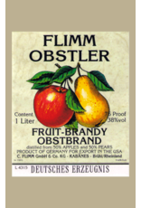 Brandy Flimm Obstler Fruit-Brandy 1L