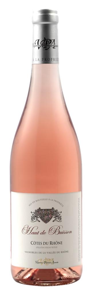 French Wine Haut de Buisson Cotes du Rhone Rosé 2017 750ml