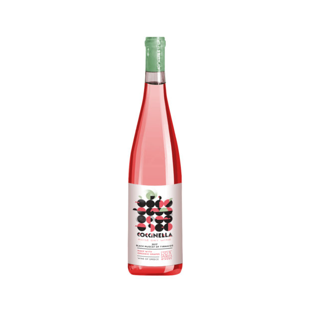 Greek Wine Papras Coccinella Rosé 2018 750ml
