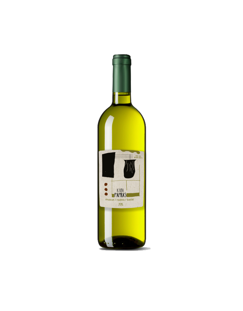 Greek Wine Papras White Blend 2017 750ml