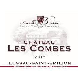 French Wine Chateau Les Combes Lussac Saint-Emilion 2014 750ml