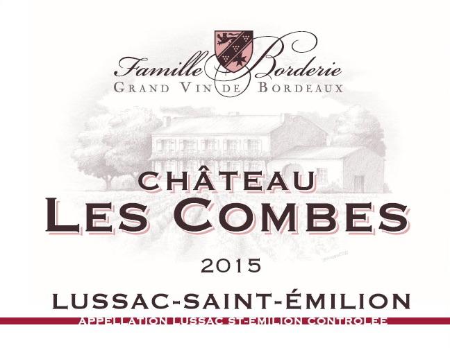 French Wine Chateau Les Combes Lussac Saint-Emilion 2014 750ml