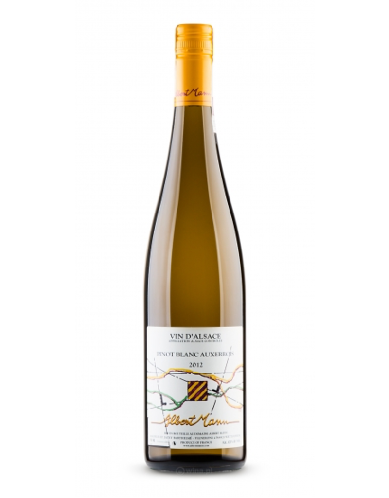 French Wine Albert Mann Pinot Blanc Alcase 2016 750ml