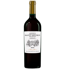 French Wine Chateau Saint Seurin de Leviac Bordeaux 2015 750ml