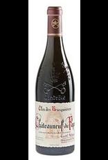 French Wine Clos des Brusquiéres Chateauneuf-du-Pape Rouge 2016 750ml