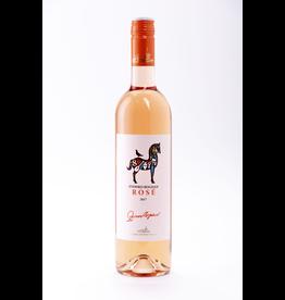 "Eastern Euro Wine Vinarija Zvonko Bogdan Rosé ""Half Dry"" Serbia 2017 750ml"