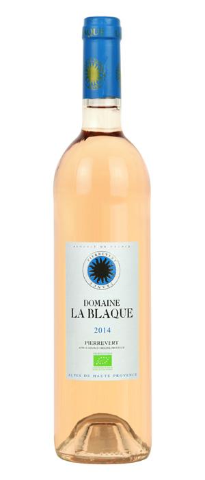 French Wine Domaine La Blaque Pierrevert Rosé 2018 750ml