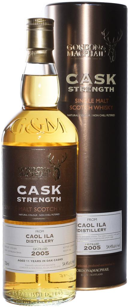 Scotch Gordon & MacPhail Caol Ila Cask Strength 2005 11 Year Single Malt Scotch Whisky 54.4% 750ml