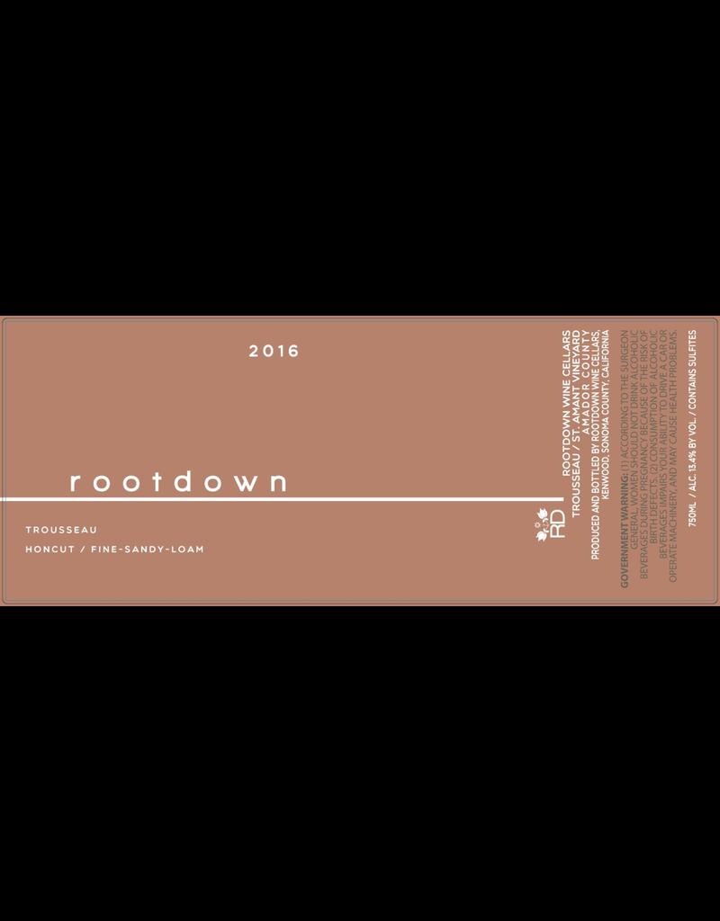 Rootdown Trousseau St. Amant Vineyard Amador County 2017 750ml