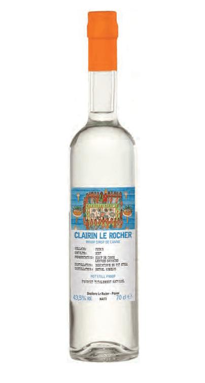"""Rum Clairin """"Le Rocher"""" Rum 750ml"""