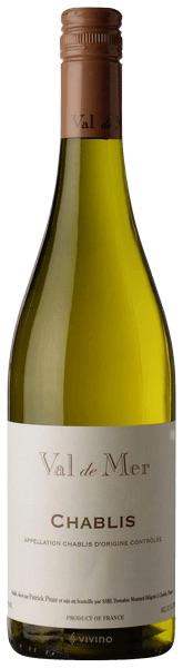 French Wine Val de Mer Chablis 2016 750ml