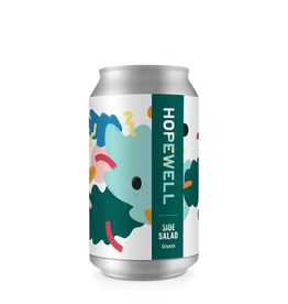 "Beer Hopewell Brewing ""Side Salad"" Grisette 12oz 4pk"