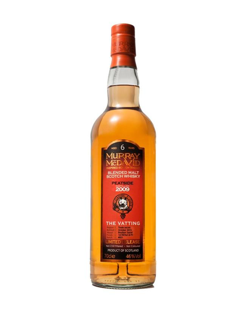 "Murray McDavid ""Peatside"" 2010 ""The Vatting"" Limited Release Blended Malt Scotch Whisky 750ml"