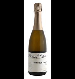 Sparkling Wine Manuel Olivier Crémant de Bourgogne Brut Rosé 750ml