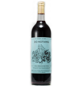 "American Wine Fossil & Fawn ""Do Nothing"" Oregon Red Wine 2018 750ml"