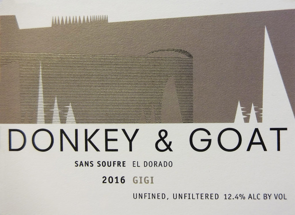 "American Wine Donkey & Goat ""Gigi, Sans Soufre"" Red Wine 2018 750ml"