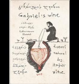 Gabriel's Wine Rkatsiteli/Mtsvane Amber Wine Kakheti Georgia 2018 750ml