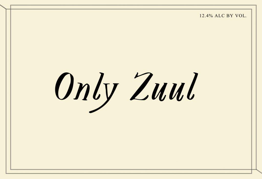 "American Wine Swick Wines ""Only Zuul"" American Red wine 2018 750ml"