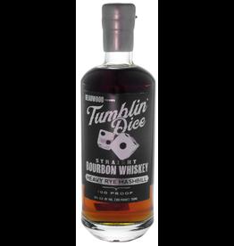Tumblin' Dice Straight Bourbon Whiskey Heavy Rye Mashbill 3 Year 100 Proof 750ml