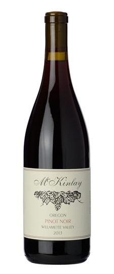 American Wine McKinlay Oregon Pinot Noir Willamette Valley 2017 750ml