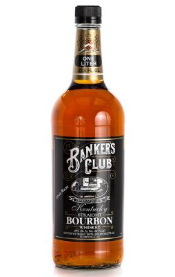 Bourbon Banker's Club Kentucky Straight Bourbon Whiskey 1L