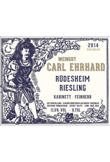 German Wine Carl Ehrhard Rudesheim Kabinett Riesling Feinherb 2017 750ml