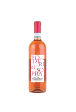 "Italian Wine Valle Roncati ""Poderi di Sopra"" Colline Novaresi Nebbiolo Rosato 2017 750ml"