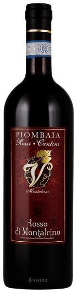 Italian Wine Piombaia Rosso di Montalcino 2015 750ml