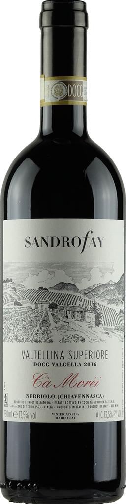 "Italian Wine Sandro Fay ""Ca Voréi"" Valtellina Superiore 2016 750ml"