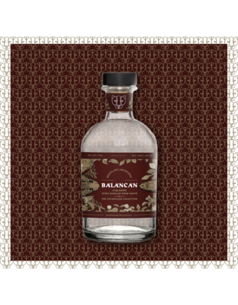 "Balancan ""Papalome"" Destilado Artisanal The Uncertified Collection Oaxaca 750ml"