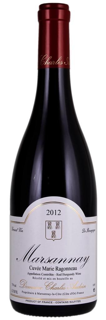 """French Wine Charles Audoin Marsannay """"Cuvée Marie Ragonneau"""" 2015 750ml"""