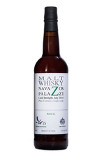 """Whiskey Navazos Palazzi Malt Whisky Cask Strength , bottled in 2016 """"The remainder of our 3 Palo Cortado casks"""" 52.5% abv 750ml"""