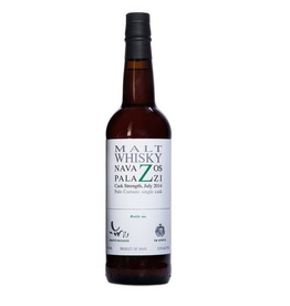 "Whiskey Navazos Palazzi Malt Whisky Cask Strength , bottled in 2016 ""The remainder of our 3 Palo Cortado casks"" 52.5% abv 750ml"