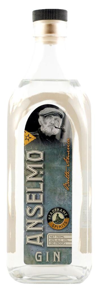"""Gin Headframe Spirits """"Anselmo"""" Gin 750ml"""
