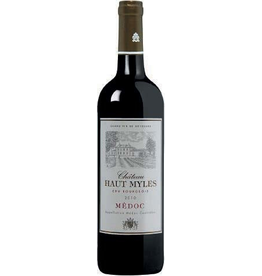 French Wine Chateau Haut Myles Médoc Cru Bourgeois 2010 750ml