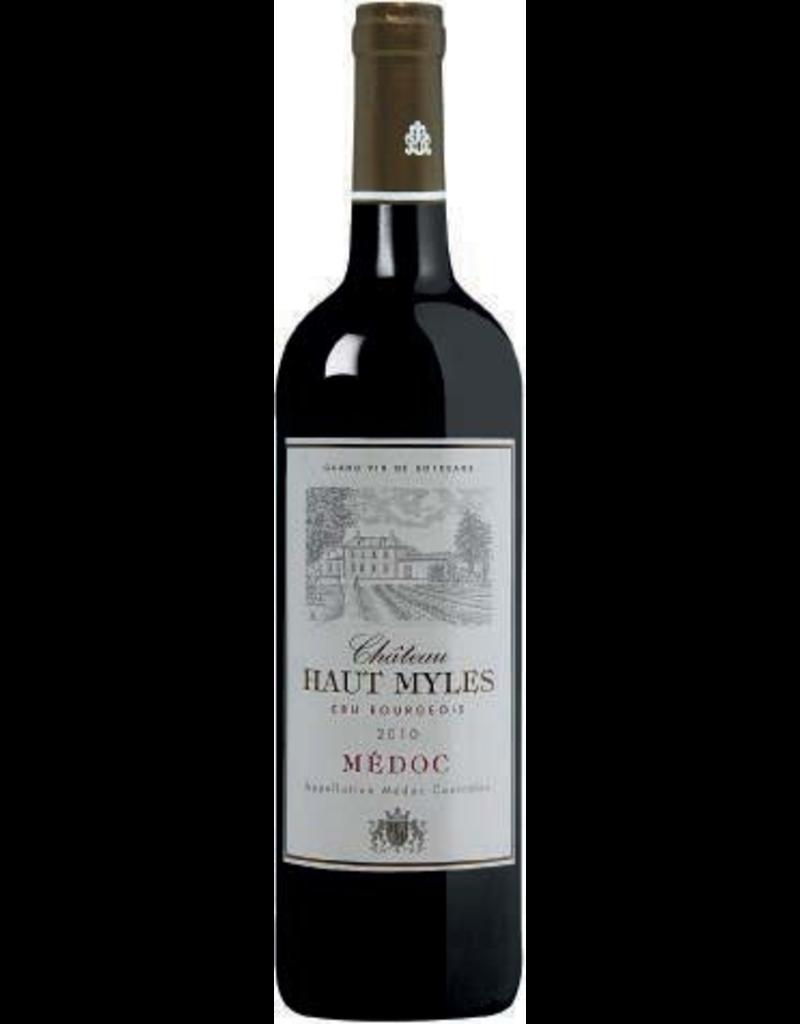 French Wine Chateau Haut Myles Médoc Cru Bourgeois 2010 750ml