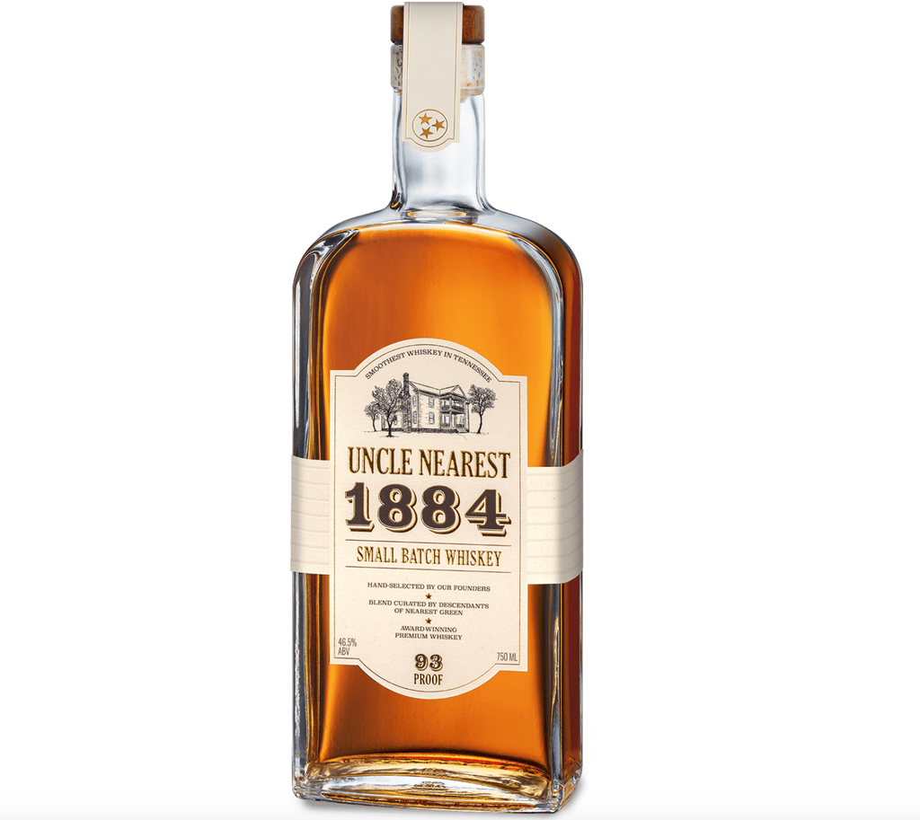 """Whiskey Uncle Nearest """"1884"""" Small Batch Whiskey 93 Proof 750ml"""