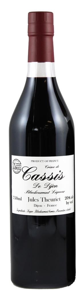 Liqueur Jules Theuriet Creme de Cassis 750ml