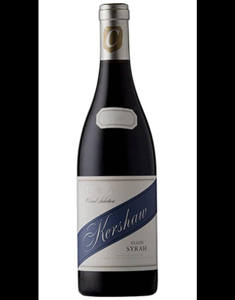 "South African Wine Kershaw Syrah ""Clonal Selection"" Elgin 2015 750ml"