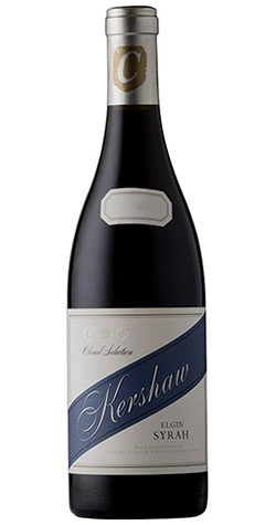 "South African Wine Kershaw Syrah ""Clonal Selection"" Elgin 2015 750ml"